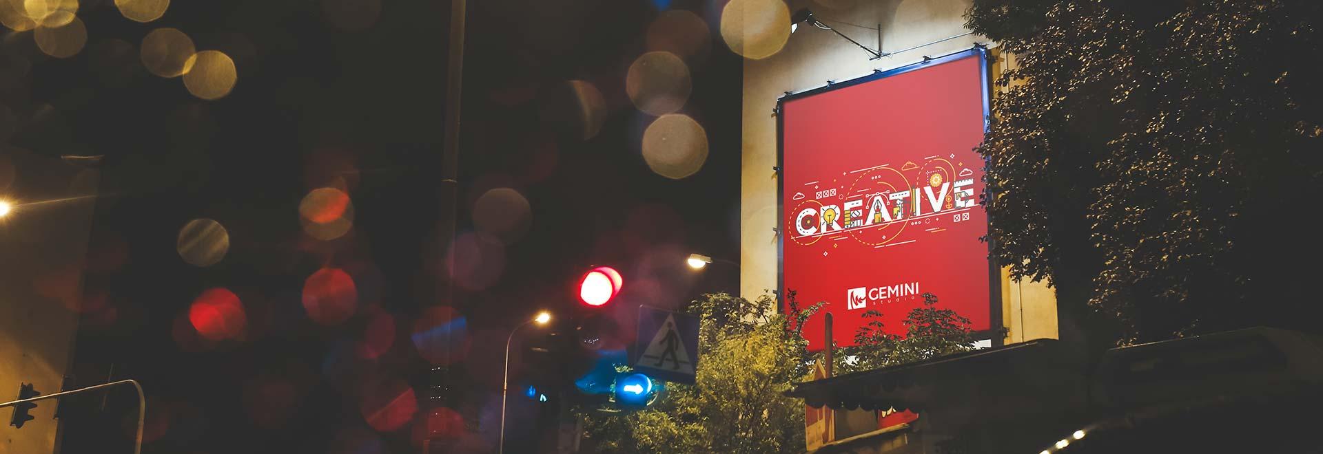 Billboard Creative Gemini Studio