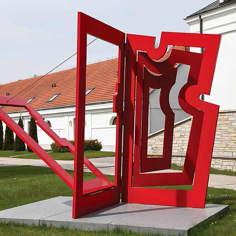"""Maciej Szańkowski """"Wieloprzestrzenie"""" Centrum Rzeźby Polskiej"""