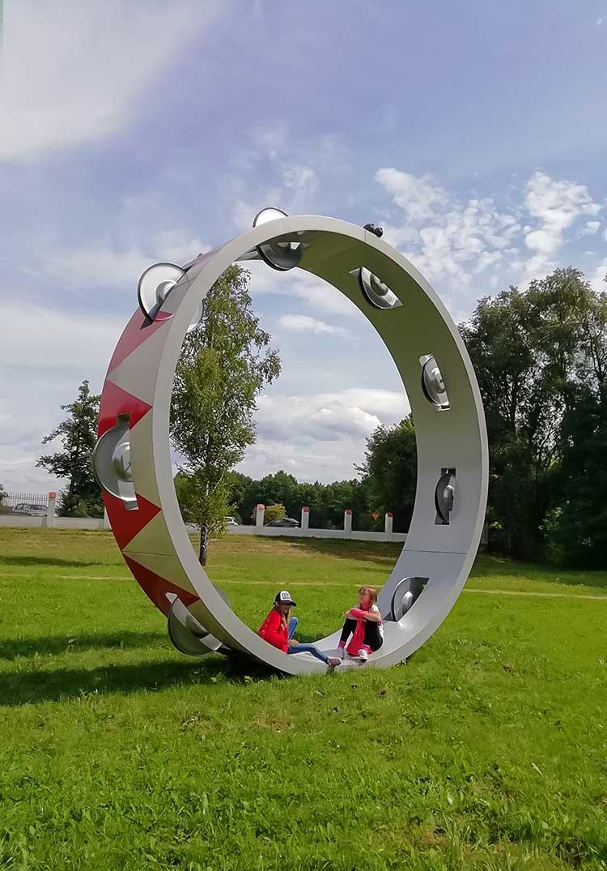 """Thorsten Goldberg """"Opera się nie skończy, dopóki śpiewa gruba dama"""" Centrum Rzeźby Polskiej"""