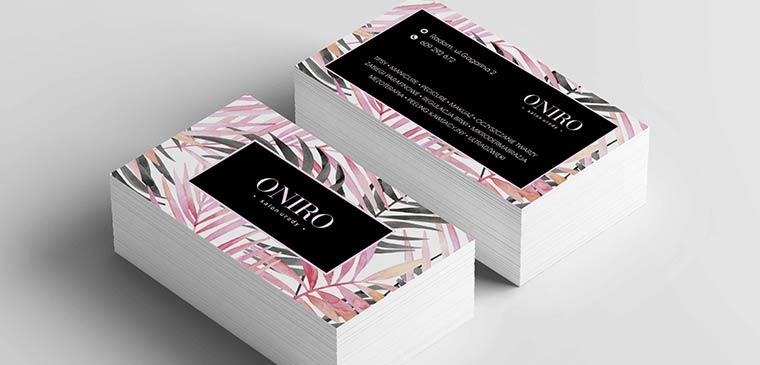 Wizytówki Oniro
