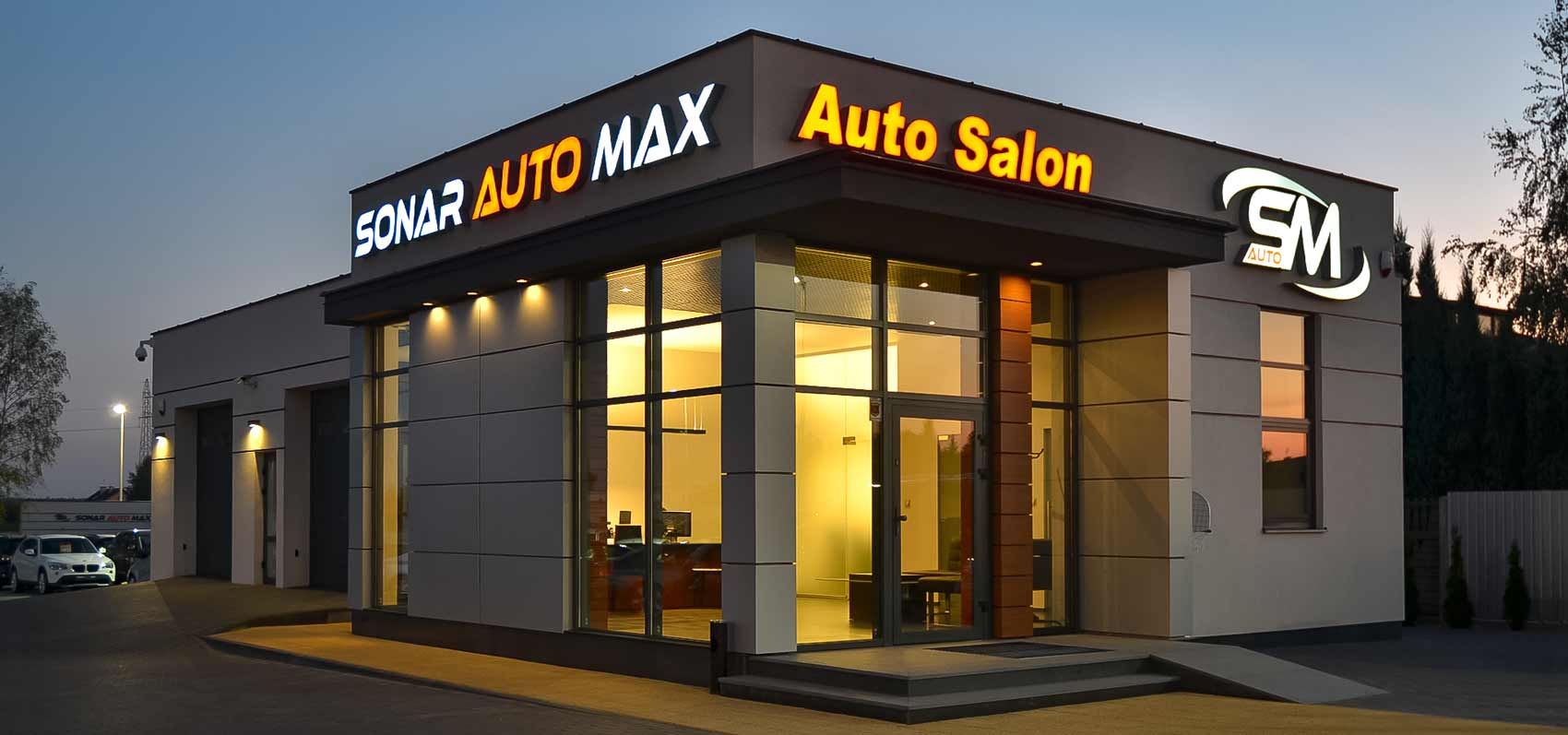 Litery blokowe Sonar Auto Max