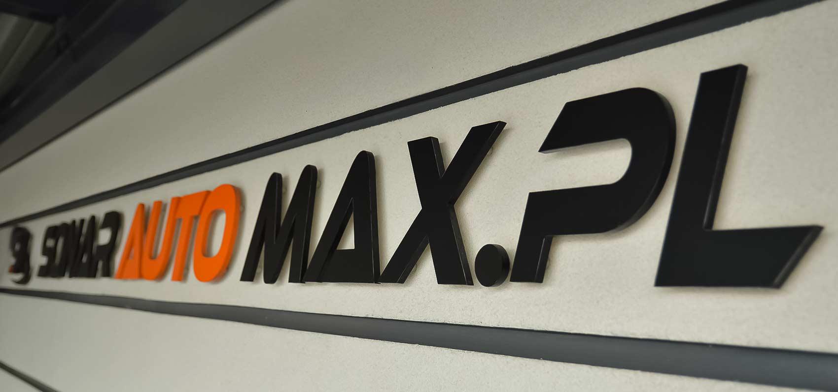 Litery przestrzenne Sonar Auto Max