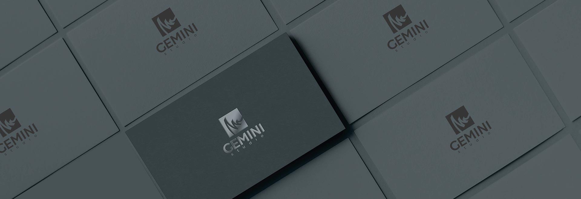 Wizytówki Gemini Studio