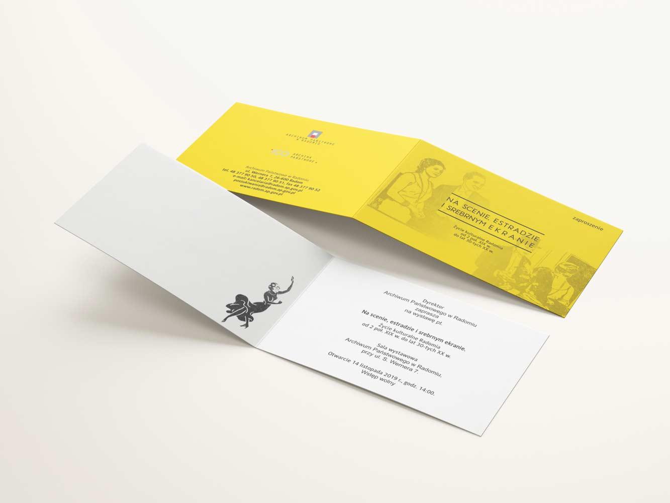 Archiwum Państwowe - Zaproszenie